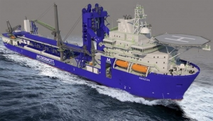 Major modification on McDermott pipelay vessel